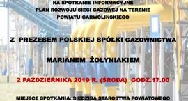 Spotkanie z prezesem Polskiej Spółki Gazownictwa