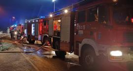Pożar w hotelowejpralni w Talarii