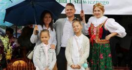 Leśmian na dożynkach w Łaskarzewie