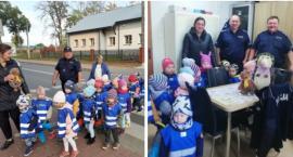 Przedszkolaki odwiedziły policjantów