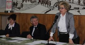 Przewodniczący Jonczak i wiceprzewodnicząca Pasik