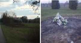 Palenie śmieci na cmentarzu zgłoszone na policję