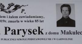 Zmarła Maria Parysek – Uroczystości pogrzebowe
