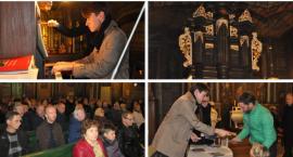 Przy organach Adam Tański – Koncert w kościele w Mariańskim Porzeczu