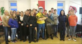 Garwolińscy uczniowie z wizytą w komendzie policji
