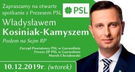 Władysław Kosiniak-Kamysz przyjeżdża do Garwolina