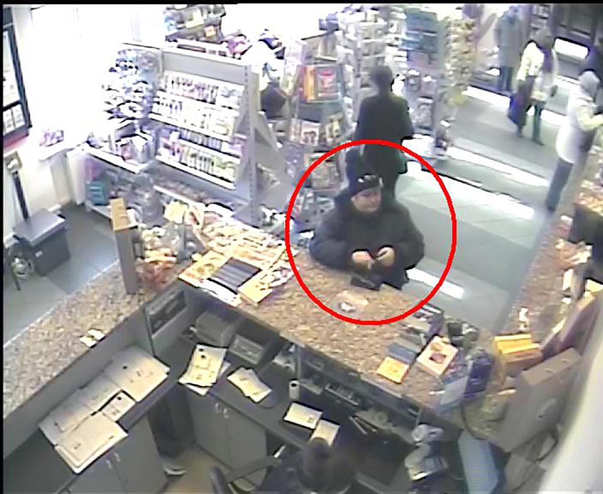 Kryminalne, Rozpoznajesz kobietę Powiadom policję! - zdjęcie, fotografia