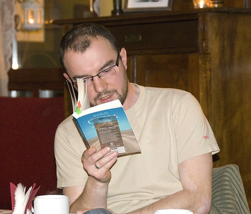 Zapowiedzi, Spotkanie literaturą autorem Słupska - zdjęcie, fotografia