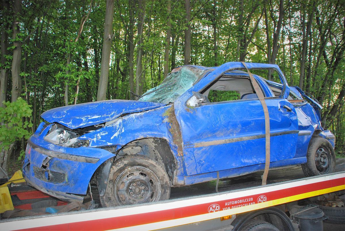 Na drogach, Śmiertelny wypadek Objezierzu żyje letnia kobieta - zdjęcie, fotografia
