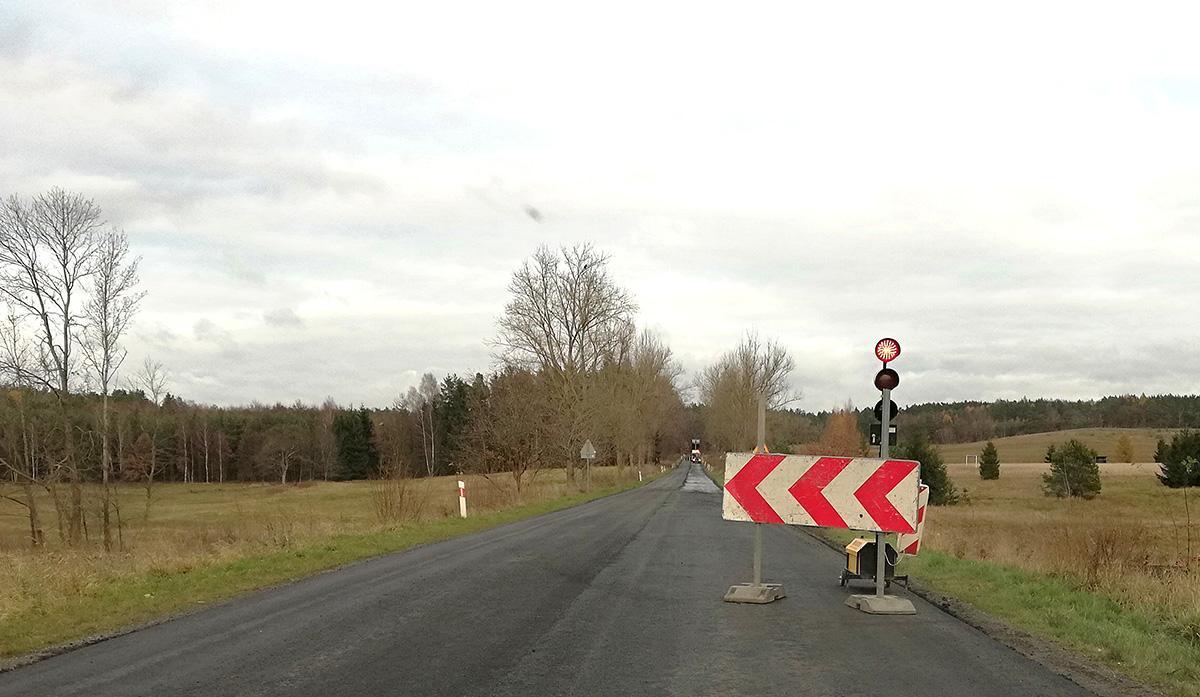 Na drogach, Utrudnienia kolejnym odcinku - zdjęcie, fotografia