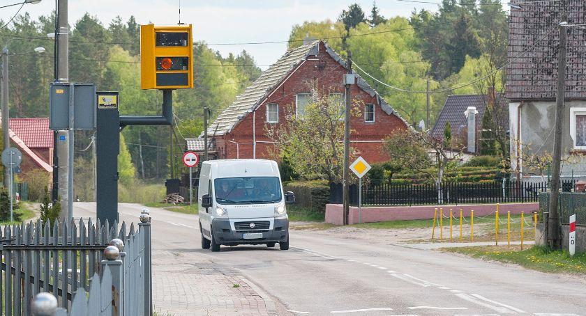 Na drogach, Jurzence radar szwankuje - zdjęcie, fotografia