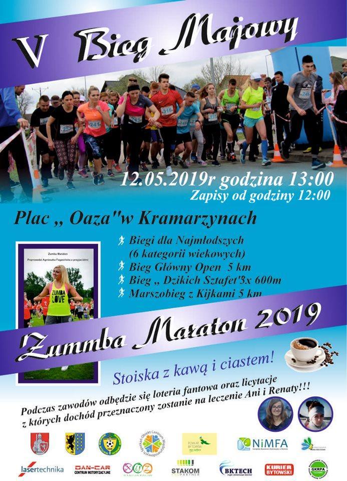 Zapowiedzi, Majowy Zumba Maraton - zdjęcie, fotografia