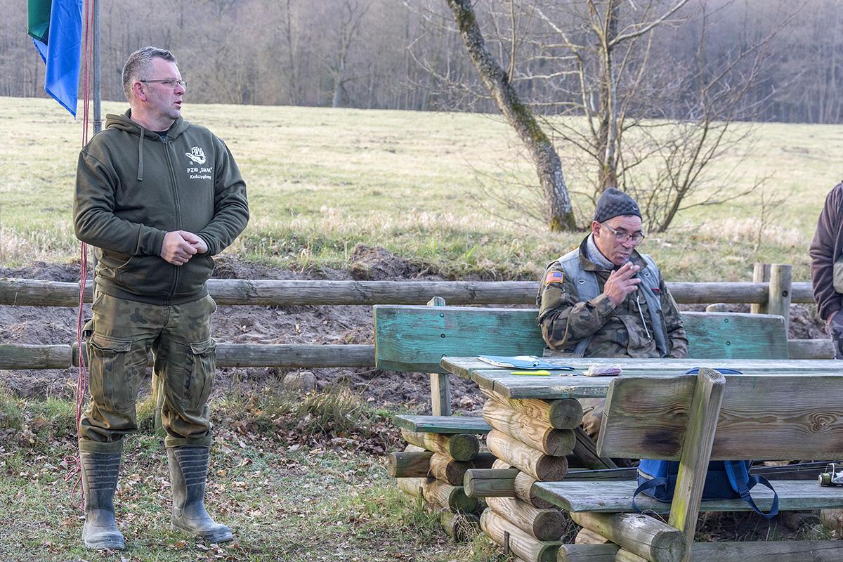 Wędkarstwo, Wędkowali Kamienicy - zdjęcie, fotografia