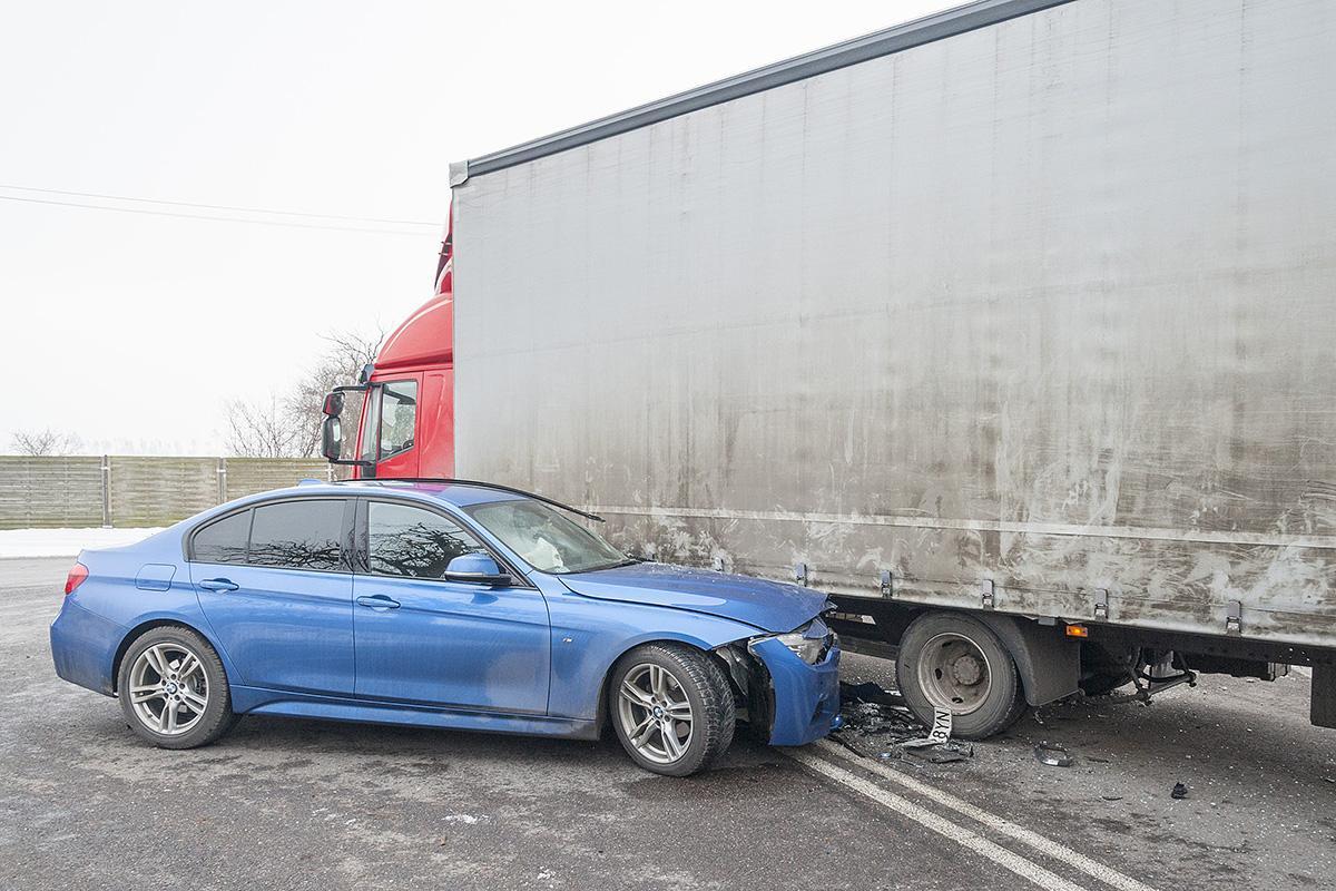 Na drogach, Kolejny wypadek skrzyżowaniu Wygodzie - zdjęcie, fotografia