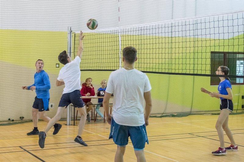 Siatkówka, Rodzinny Turniej Siatkówki - zdjęcie, fotografia