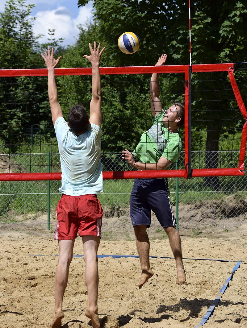 Siatkówka, Mistrzostwa piasku - zdjęcie, fotografia