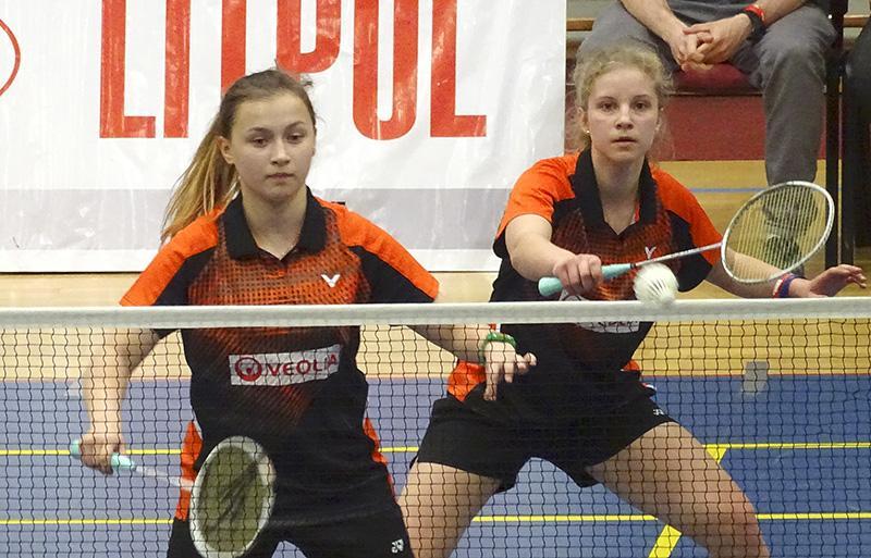 Badminton, Cztery medale badmintonistek - zdjęcie, fotografia