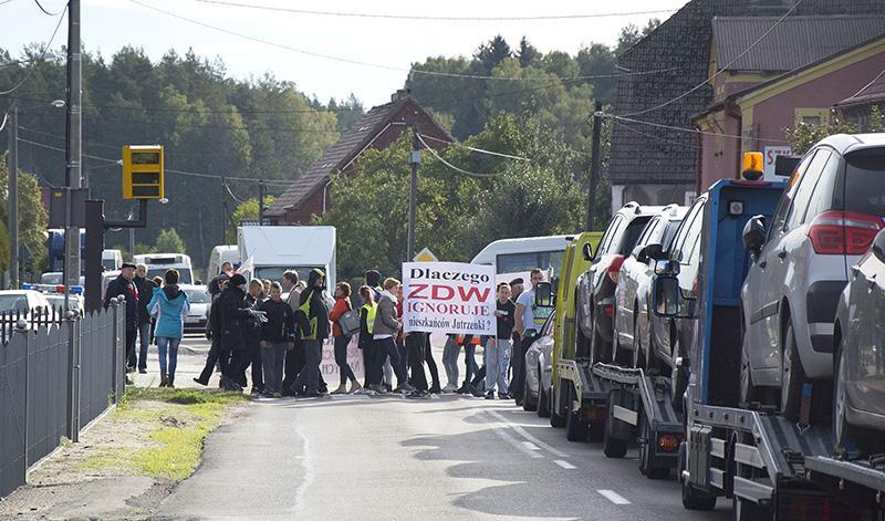 Grubsza sprawa, Blokada Jutrzence - zdjęcie, fotografia