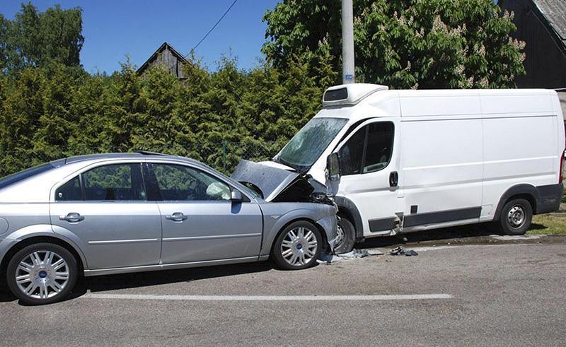 Wypadki drogowe , Groźny przedsmak - zdjęcie, fotografia