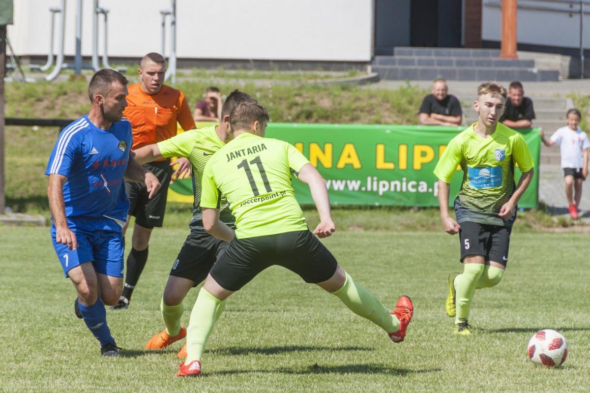 Piłka nożna, Lipniczanka lidze - zdjęcie, fotografia