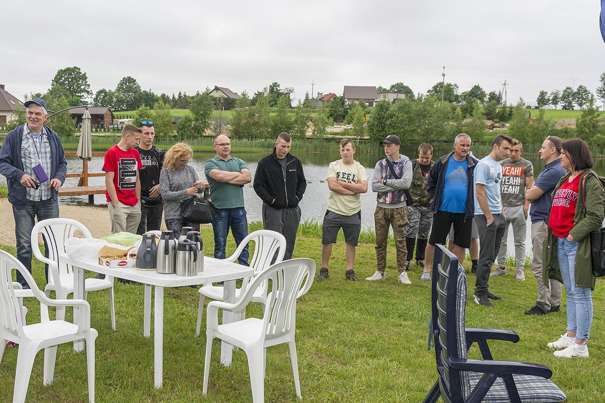 Wędkarstwo, Wędkowali uczniowie całego województwa - zdjęcie, fotografia