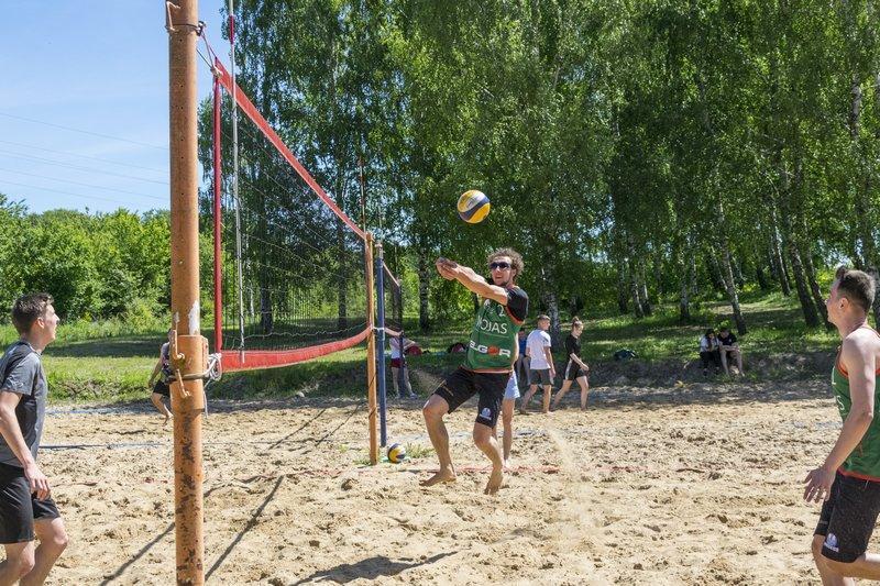 Siatkówka, Turniej okazji Kołczygłów - zdjęcie, fotografia