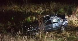 Auto tonęło z kierowcą w środku
