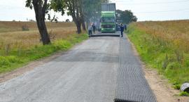 Leją asfalt po nawałnicy