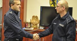 Złodziej złapany, policjant nagrodzony