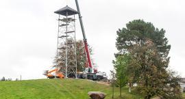 Nowa wieża na Górze Lemana