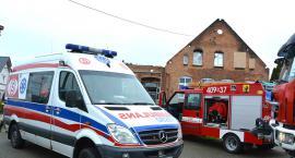 Wypadek w Łąkiem