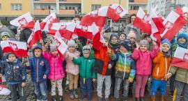 Przedszkolaki zaśpiewały hymn Polski
