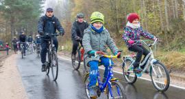 Ścieżka rowerowa Bytów-Mała Wieś. Pierwsza impreza na szlaku