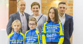 Kolarz Kamil Małecki podziękował za wsparcie