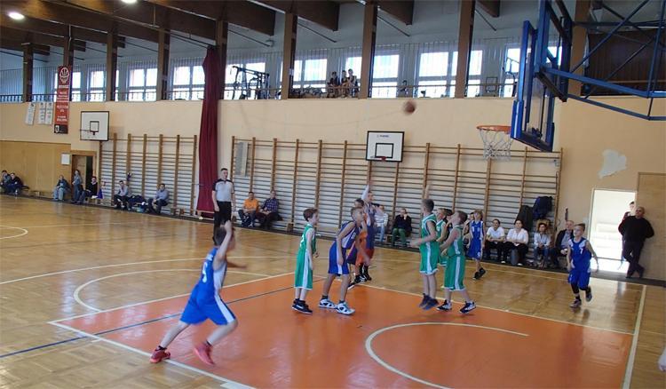 Koszykówka, zwycięstwa Kasprowicz rozgrywkach - zdjęcie, fotografia