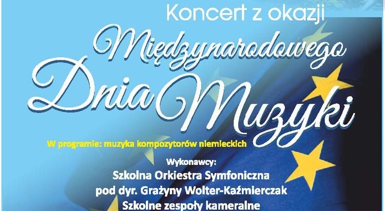 Kultura, Koncert okazji Międzynarodowego Muzyki - zdjęcie, fotografia