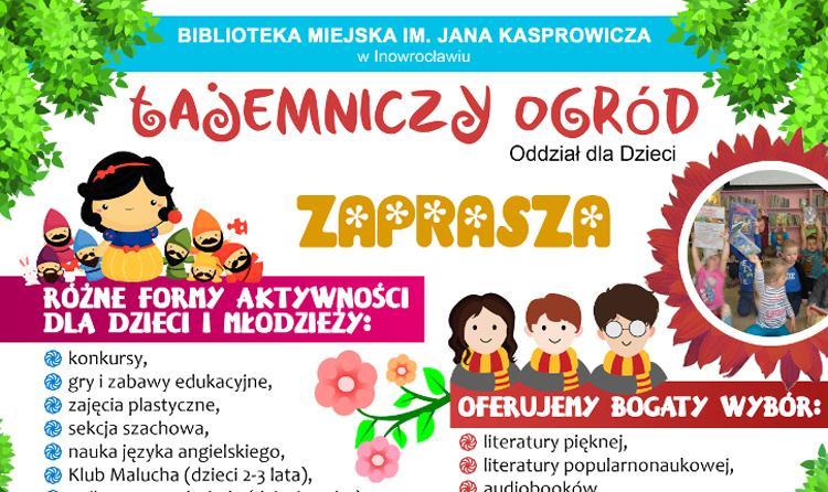 Tajemniczy Ogród Zaprasza Po Wakacjach Inowrocław