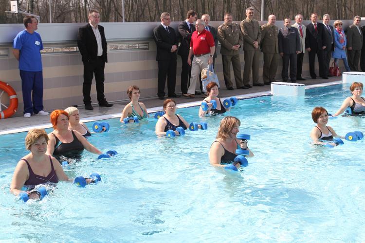 Pływanie, Aerobic - zdjęcie, fotografia