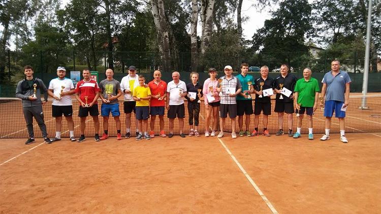 Tenis ziemny, Odbył turniej tenisa deblowych - zdjęcie, fotografia