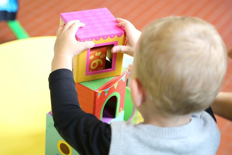 Edukacja, Program pobyt dziecka żłobku rodziców - zdjęcie, fotografia