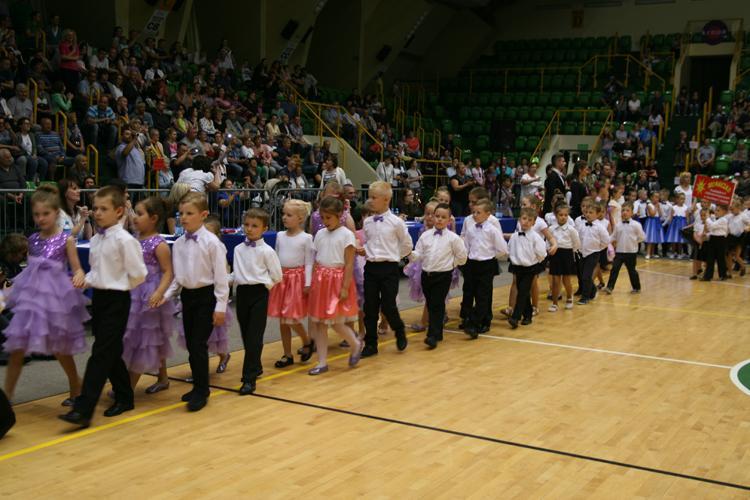 Edukacja, XVIII Mistrzostwach Tańca Towarzyskiego Przedszkolaków - zdjęcie, fotografia