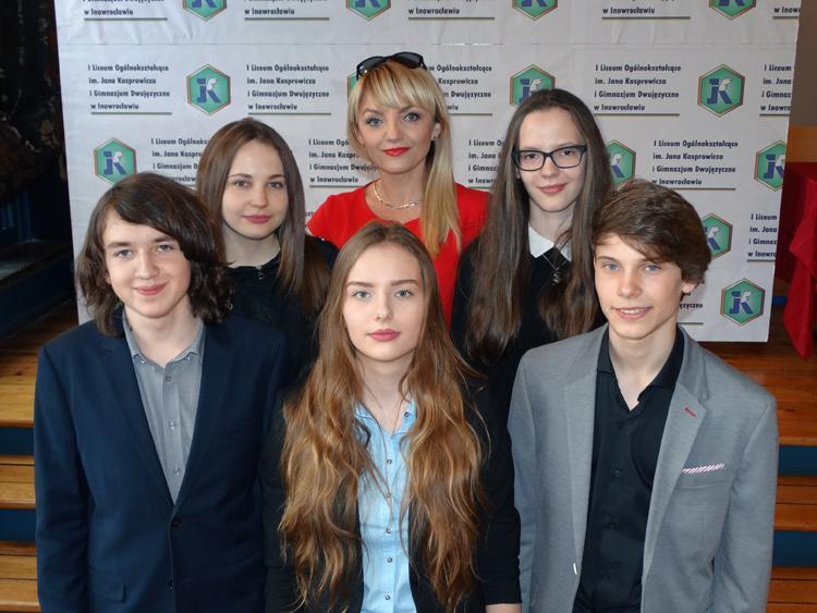 szkoły podstawowe, Sukcesy biologiczne uczniów Gimnazjum Dwujęzycznego - zdjęcie, fotografia