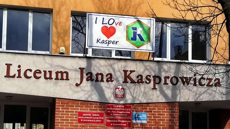 Edukacja, Kasper zaprasza licealnej klasy dwujęzycznej - zdjęcie, fotografia