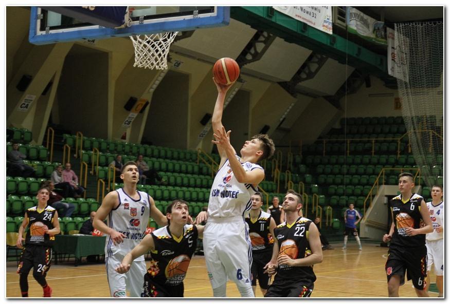 Koszykówka, lidze derby Noteć - zdjęcie, fotografia