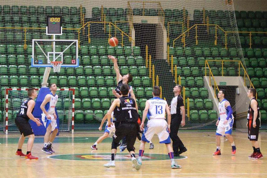 Koszykówka, Porażka Kaspra ostatnim meczu - zdjęcie, fotografia