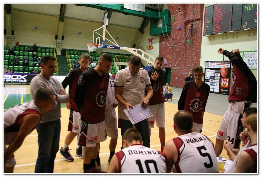 Koszykówka, Domino pewnie wygrywa Włocławek - zdjęcie, fotografia