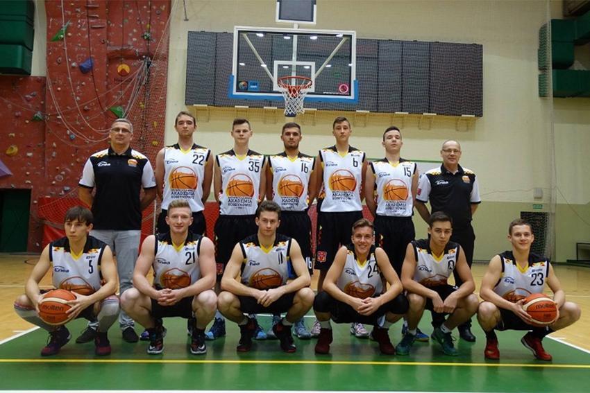 Koszykówka, Wyjazdowa wygrana Inowrocławskiej Akademii Koszykówki - zdjęcie, fotografia