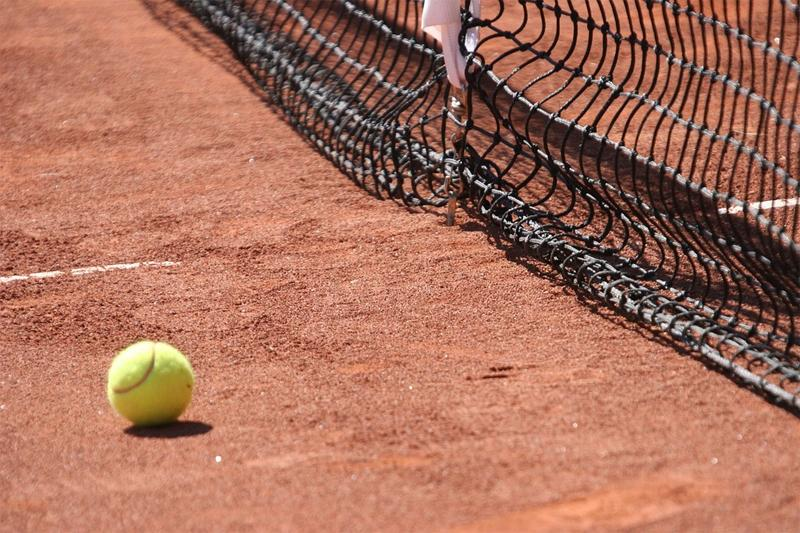 Tenis ziemny, Mikołajkowym Turnieju Tenisa Ziemnego dzieci - zdjęcie, fotografia