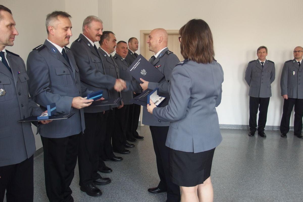Komunikaty Policja, Jubileusze Policji - zdjęcie, fotografia