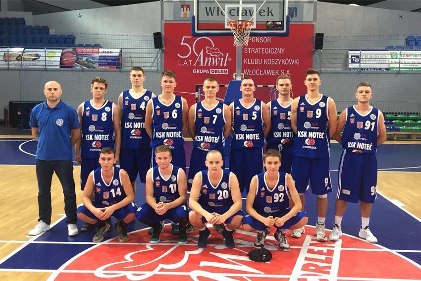 Koszykówka, drużyna pierwszy pierwsza wygrana - zdjęcie, fotografia